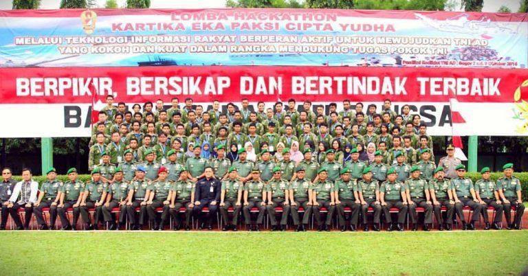 Nostalgia Cerita Dibalik Barak, Dalam Hackathon TNI AD Kartika Eka Paksi 2016
