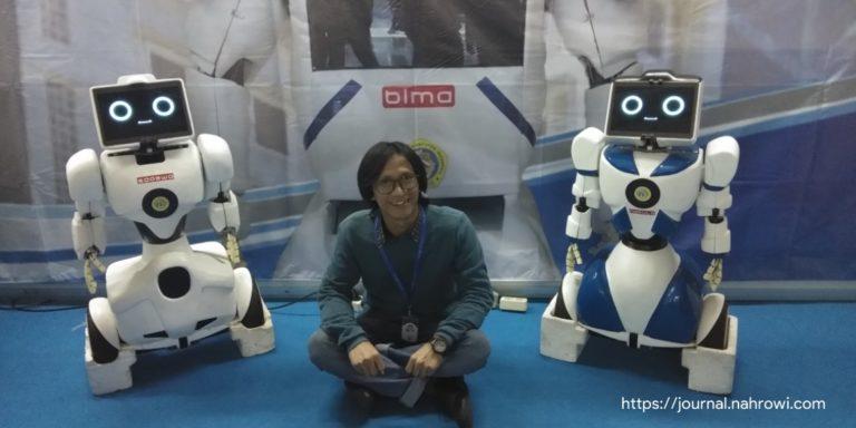 Pertemuan dengan Nakula & Sadewa, Robot Masa Depan Karya Anak Indonesia.